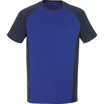 T-Shirt Unique, blau/schwarz, Gr. XL